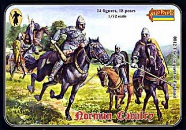 STRELETS THE CONQUEST OF ENGLAND - NORMAN CAVALRY 1/72