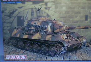 Maquette JAGDTIGER LATE TYPE 1944-1945