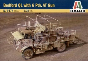 ITALERI 1/35 Bedford QL with 6 Pdr.AT Gun