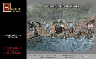 1/72 California Gold Miners