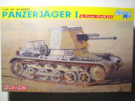 Maquette char 1/35 Panzerjager I 4.7cm PaK(t)