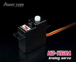 POWER HD MINI SERVO 1160A analogique haute performance